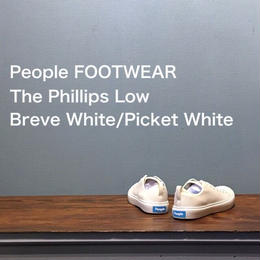 "People FOOTWEAR ""The Phillips Low"" Breve White/Picket White"