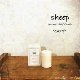 sheep SOY CANDLE soy SS