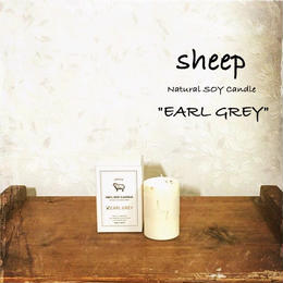 sheep SOY CANDLE earl gray SS