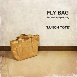 "FLY BAG ""LUNCH TOTE"" Brown"