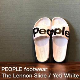 """PEOPLE footwear """"THE LENNON SLIDE"""" Yeti White"""