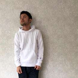 "Champion ""REVERSE WEAVE FOOD"" White"