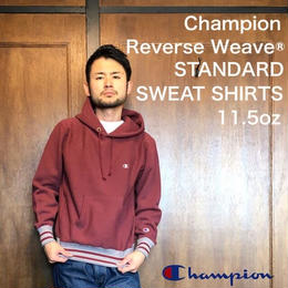 "Champion ""REVERSE WEAVE® PULLOVER HOODED SWEAT SHIRTS"" Maroon"