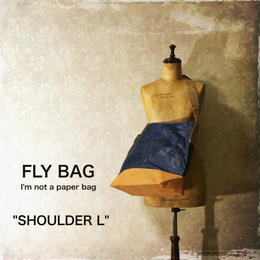 "FLY BAG ""SHOULDER L"" Navy"