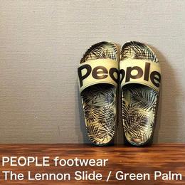 """PEOPLE footwear """"THE LENNON SLIDE"""" Green Palm"""