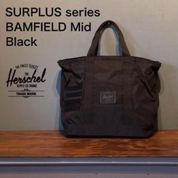 """Herschel """"SURPLUS BAMFIELD Mid"""" Black"""