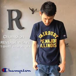 "Champion REVERSE WEAVE ""T-SHIRT 9.4oz JERSEY""  Navy"