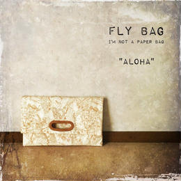 "FLY BAG CLUTCH ""ALOHA"""