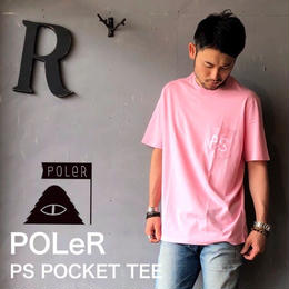 "POLeR ""PS POCKET TEE"" Pink"