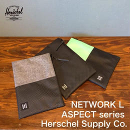 "Herschel ""NETWORK POUCH L"" ASPECT series"