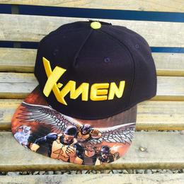 【USA直輸入】MARVEL X-MEN エックスメン ロゴ 帽子 キャップ ハット スナップバック 日本未発売
