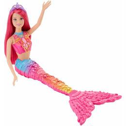 【USA直輸入】barbie バービー レインボー マーメイド ピンクヘア 人形 ドール