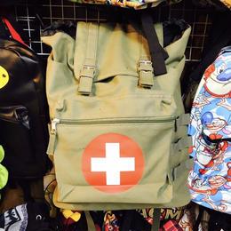 【USA直輸入】メディカル クロス バックパック リュック 救急 十字マーク 衛生兵