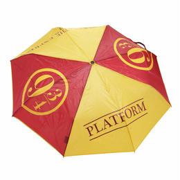 【USA直輸入】折り畳み傘 ハリーポッター プラットフォーム 9・3/4番線 正規品