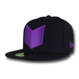 【USA直輸入】MARVEL NEWERA ホークアイ ロゴ キャップ 帽子 ニューエラ 73/8 58.7cm
