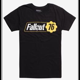 【USA直輸入】フォールアウト 76  ロゴ Teaser ティーザー Tシャツ   Fallout 76  GAME