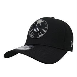 【USA直輸入】MARVEL  シールド ロゴ キャップ 39Thirty Fitted ニューエラ NEWERA ベースボールキャップ 帽子 マーベル
