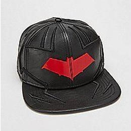 【USA直輸入】DCコミックス レッドフード フェイクレザー キャップ 帽子 ロビン