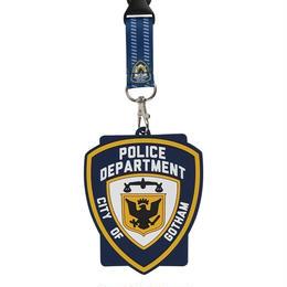 【USA直輸入】DC バットマン ゴッサムシティ ゴッサム市警察 ランヤード GCPD   ゴッサム ポリス ネックストラップ ラバー IDホルダー DCコミックス