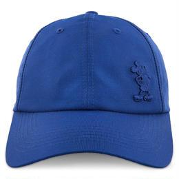 【USA直輸入】DISNEY  ミッキー エンボス ブルー キャップ 帽子 ベースボール ハット ミッキーマウス スナップバック