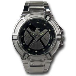 【USA直輸入】MARVEL シールド リストウォッチ 腕時計 ロゴ アベンジャーズ マーベル 正規ライセンス