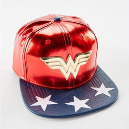 【USA直輸入】ワンダーウーマン ロゴ キャップ 帽子 DCコミックス