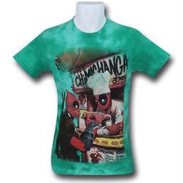【USA直輸入】MARVEL デッドプール チミチャンガ タイダイ Tシャツ deadpool マーベル