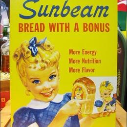 アメリカンブリキ看板 リトル・ミス -Sunbeam Little Miss-
