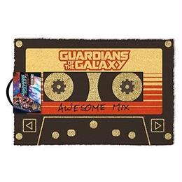 【海外直輸入】MARVEL ガーディアンズオブギャラクシー オウサム ミックス  カセットテープ ドア マット 玄関マット ガーディアンズ  GOG マーベル 映画