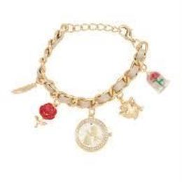 【USA直輸入】DISNEY 美女と野獣 ベル ブレスレット 腕時計 アクセサリー 時計
