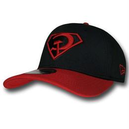 【USA直輸入】DC スーパーマン レッド サン ロゴ キャップ 9Twenty  スナップバック ニューエラ NEWERA ベースボールキャップ 帽子 DCコミックス
