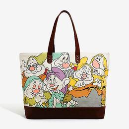 【USA直輸入】Disney 白雪姫 7人の小人 トートバッグ ラウンジフライ 日本未発売 ディズニー