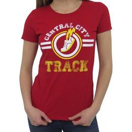 【USA直輸入】DCコミックス フラッシュ セントラルシティ トラック Tシャツ ウーマンサイズ