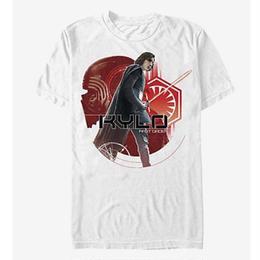 【USA直輸入】STARWARS カイロレン KYLO FIRST ORDER 白地 Tシャツ スターウォーズ