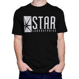 【USA直輸入】DCコミックス スターラボ フラッシュ Tシャツ DC FLASH