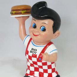 アメ雑の定番!!ハンバーグレストランBIG BOYのキャラクター貯金箱!【ビッグボーイバンク】
