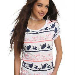 【USA直輸入】DISNEY ライオンキング Tシャツ シルエット 海外Tシャツ