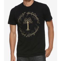 【USA直輸入】ロードオブザリング ワン リング 指輪 Tシャツ Lord Of The Rings