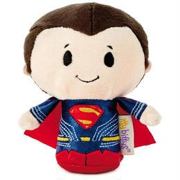【USA直輸入】DCコミックス スーパーマン ジャスティスリーグ版 ぬいぐるみ ittybittys 約10cm hallmark 限定品