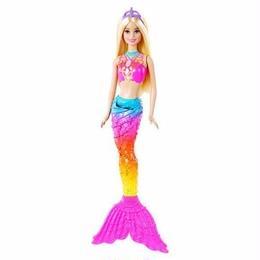 【USA直輸入】barbie バービー レインボー マーメイド ブロンド 人形 ドール