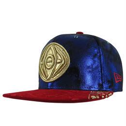 【USA直輸入】MARVEL ドクターストレンジ アガモット カラー ロゴ キャップ 59fifty  スナップバック ニューエラ NEWERA ベースボールキャップ 帽子 マーベル