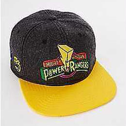 【USA直輸入】 パワーレンジャー  ロゴ   ハット キャップ 帽子 ベースボールキャップ スナップバック