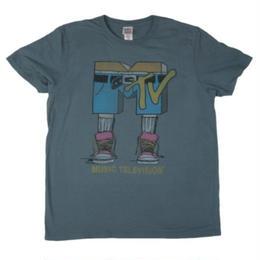 【USA直輸入】MTV Tシャツ パンツ グレー ケーブルテレビ