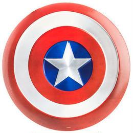 【USA直輸入】 MARVEL キャプテンアメリカ シールド 盾 メタル ブリキ看板 アメコミ 看板 インテリア 壁掛け
