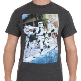 【USA直輸入】STARWARS トルーパー いたずら プールサイド Tシャツ スターウォーズ 正規ライセンス品