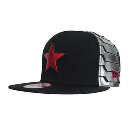 【USA直輸入】MARVEL NEWERA ウィンターソルジャー バッキー キャップ 帽子 ニューエラ950 マーベル