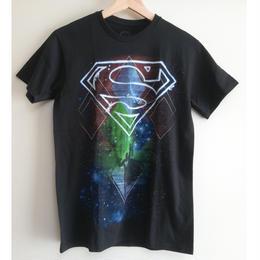【USA直輸入】DC スーパーマン ロゴ マーク スペース Tシャツ DCコミックス