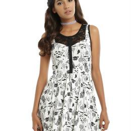 【USA直輸入】不思議の国のアリス オールオーバー ドレス ワンピース