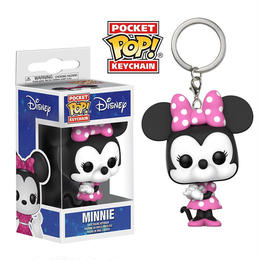 【USA直輸入】ポケットPOP! キーチェーン DISNEY ミニー キーホルダー FUNKO ディズニー  ミニーマウス