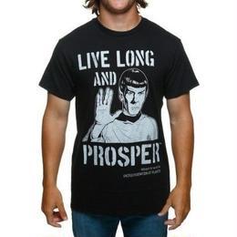 【USA直輸入】スタートレック  ミスター スポック Tシャツ Sサイズ スタトレ トレッキー トレッカー Star Trek 長寿と繁栄を